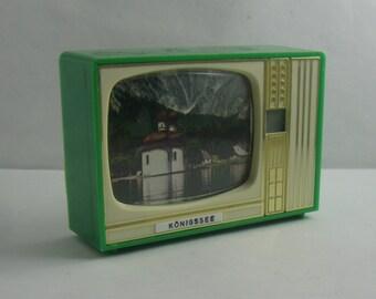 Koenigssee (Berchtesgadener Land / Bavaria). Plastiskop, Plastiskop, Gucki with 16 images. Probably 1960s. Made in Western Germany. Vintage