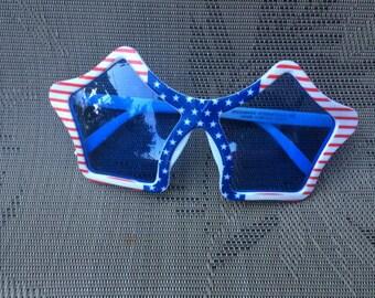 patriotic glasses, 4th July sunglasses, American flag glasses, funny glasses