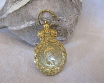 Vintage NAPOLEON BONAPARTE Saint Helena Medal