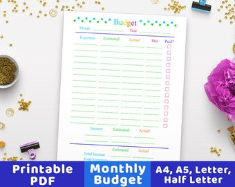 Possessive Apostrophe Worksheets Pdf Budget Worksheet  Etsy Customary Capacity Worksheets with Macmillan Worksheets Pdf Monthly Budget Planner Printable Budget Worksheet Family Budget  Printable Budget Monthly Budget Genetics Problems Worksheet Answers Pdf