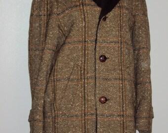 Tweed winter coat | Etsy