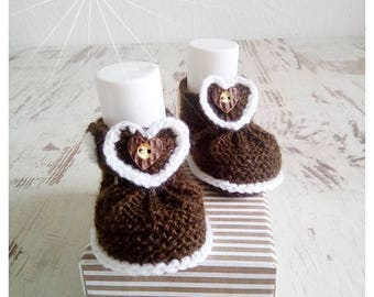 Baby shoes knit baby costume shoes
