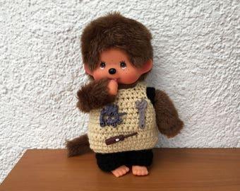"Monchichi trousers and shirt ""craftsman"" for Monchichi 20cm"