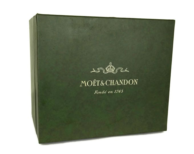 Moet & Chandon Champagne Bucket Box. Vintage French Advertising Storage Box. Wine Lover Gift. Wine Cellar Decor.