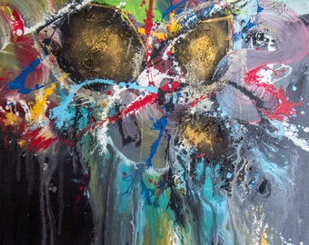 The Abstract Splash- Original Acrylic Painting