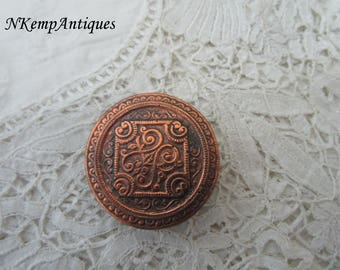 Old button for the collector