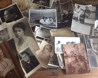 Vintage/antique photographs, 20s, 30s,40, old black and white photographs