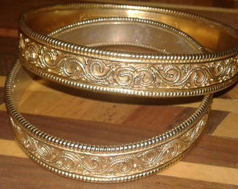 Pair of Hellenistic or Roman Bangles