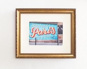 Paris 5x7 Print