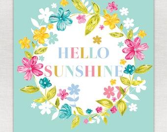 Hello Sunshine Print A5/A4/A3