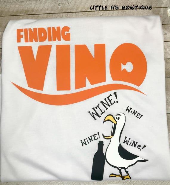 Finding Vino Tee