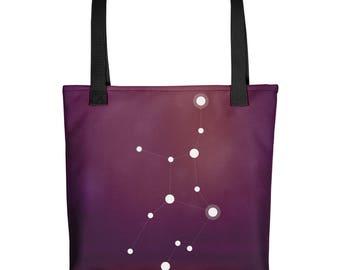 Tote bag - Zodiac Virgo Constellation Tote Bag