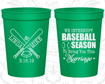 Green Stadium Cups, Green Cups, Green Party Cups, Green Wedding Cups (313)