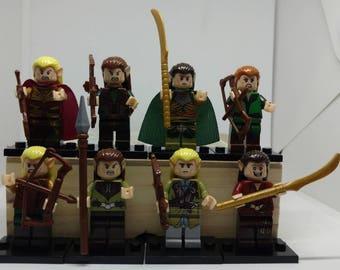 Lord of the Rings Elves Custom minifigure Lego Compatible The Hobbit LOTR theoden rohan marvel orcs hobbit eowyn eomer boromir legolas elven