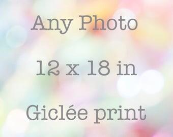 """12"""" x 18"""" print"""