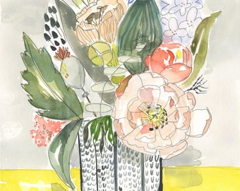 Oh Happy Day Bouquet - PRINT