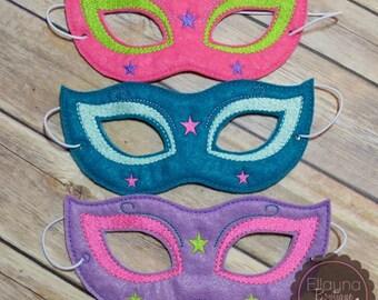 Felt Mask - Masquerade Mask