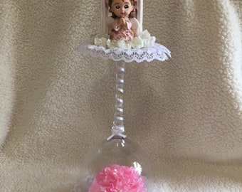 Baptism/Christening table centerpieces
