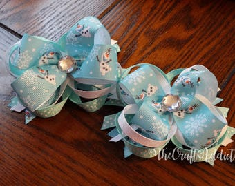Olaf Boutique Bow, Frozen Boutique Bow