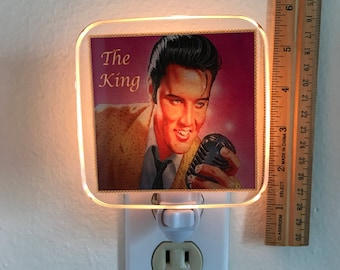 Elvis Night Light