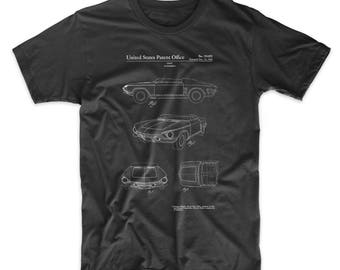 1962 Chevrolet Covair Super Spyder Concept Patent T Shirt, Chevrolet Shirt, Car T-shirt, Car Lover Gift, Car Enthusiast, PP0489