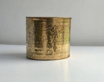 Oval Brass Waste Paper Basket, Brass Wastebasket, Brass Waste Basket