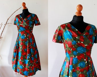 vintage 50s  dress, XS, woman's dress
