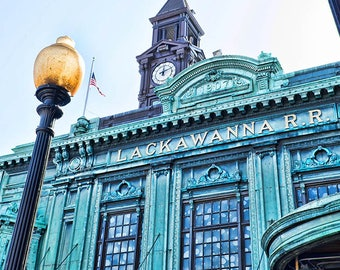 Fine art print,Photography,Wall Art,Hoboken, Railroad,train,station,waiting room,train station,Lackawanna