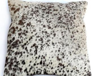 Natural Cowhide Luxurious Hair On Cushion/ Pillow Cover (15''x 15'') A27