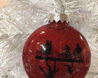 Stranger Things Ornament, Stranger Things, Netflix, Netflix lovers, eleven, will, great gift for stranger things lover, Christmas ornament