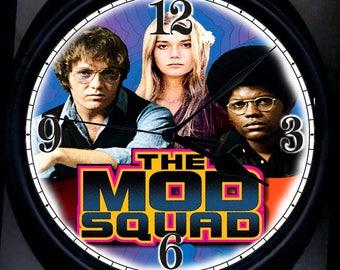 Mod Squad Wall Clock