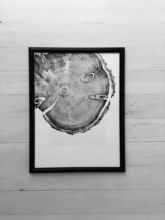 Tree ring art, Tree inspired art, pine tree, woodcut art, tree ring print, Christmas Tree, Christmas Art, Holiday art gift, Thanksgiving art