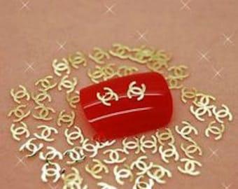 Gold 3D nail/art supply - 40pcs