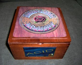 Grateful Dead Cigar Box