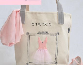 Ballet bags personalized wedding gifts