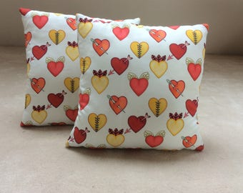 Cushion heart 40 x 40 - Love is all you need
