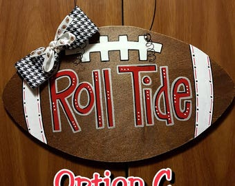 Alabama Football Door Hanger Roll Tide