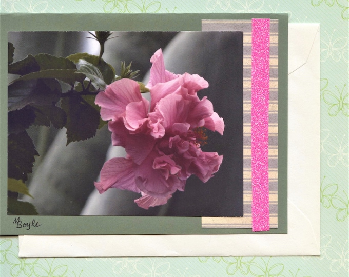 HAND MADE PHOTO Cards; blank cards, 5 x 6.50 inches with envelopes, one of a kind, scrapbooking items, card stock, sparkle