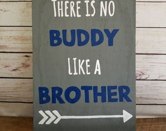 brother sign boys room sign shared room boy wall decor custom room - Childrens Bedroom Wall Decor