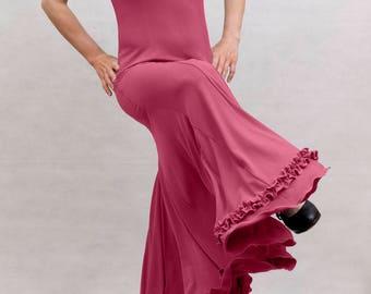 Albai Flamenco Dress, Raspberry