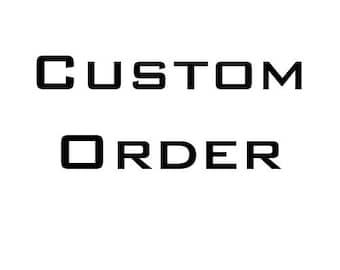 Custom order for Vivid Lighting