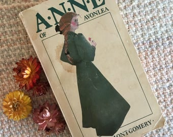 Anne of Avonlea by L.M. Montgomery (1968, Paperback), vintage book, Anne of Green Gables series, book 2