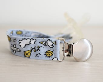 Soothie Pacifier Clip, Baby pacifier clip, Binky Clip, Paci Clip, Pacifier holder, pacifier clip boy, boy pacifier clip, dummy clip