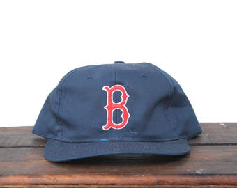 Vintage Deadstock New With Tags NWT Boston Red Sox MLB Snapback Hat Baseball Cap