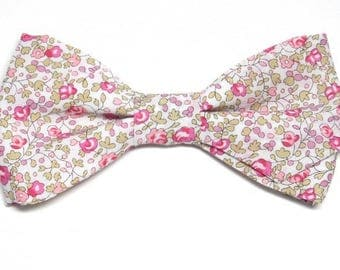 Bowtie printed Liberty with sharp edges
