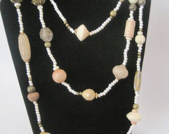 "60"" Beaded Necklace"