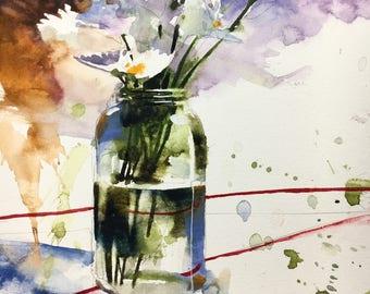 "1120 original watercolor 8x10"""