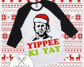 CHILD - Yippee Ki Yay Die Hard Christmas Shirt