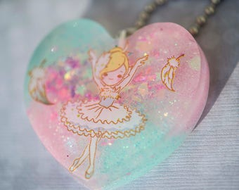 Pastel Ballerina Necklace
