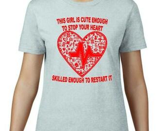 Funny and amusing t-shirts for nurses - T-shirt (women)